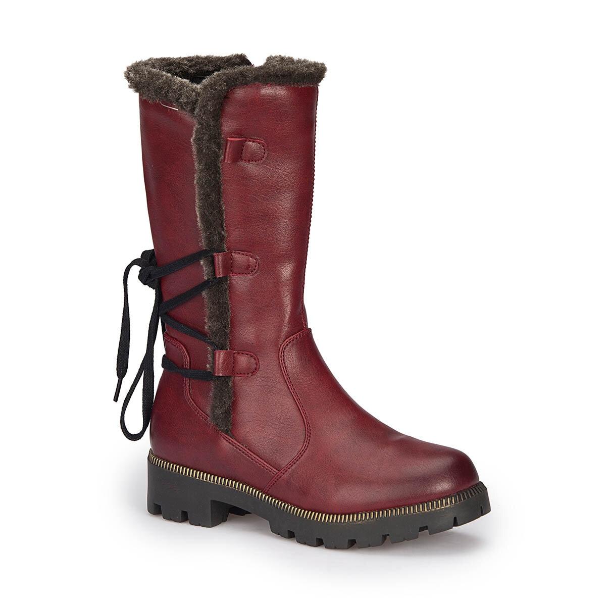 FLO 72. 509814.F Burgundy Female Child Boots Polaris