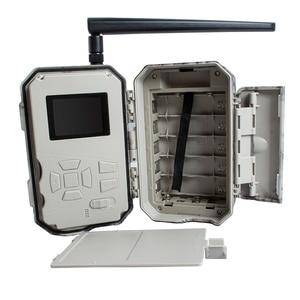 Image 5 - 4G غس تريل كاميرات للرؤية الليلية ممس سمز الأسود IR 36MP 100ft صور الفخاخ الحرارية صور بوليجارد الصيد كاميرات سحابة الخدمة