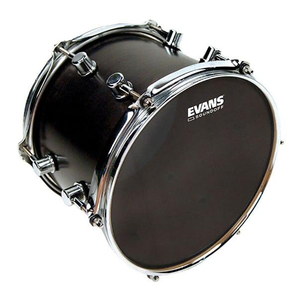 """Tt08so1 SoundOff silent plastic for volume drum 8 """", Evans"""