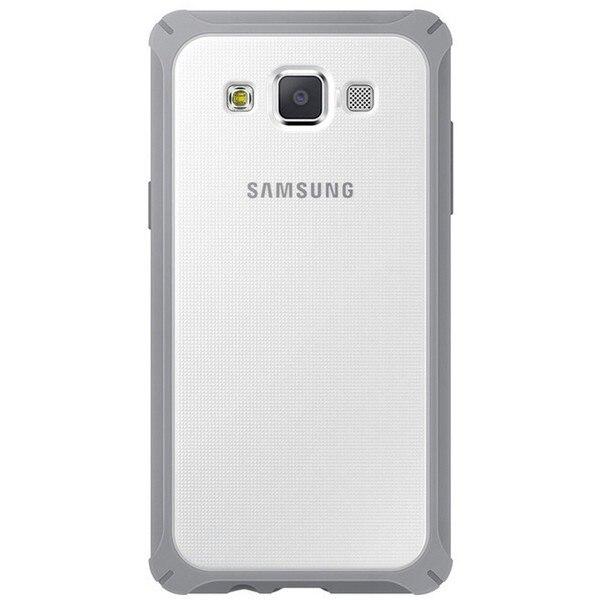 Mobile abdeckung Samsung Galaxy A3 Transparent Grau -