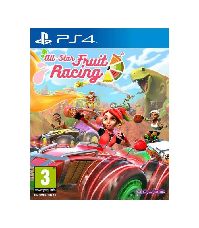 All-Star Fruit Racing Ps4 Playstation 4 Games Age 3 + image