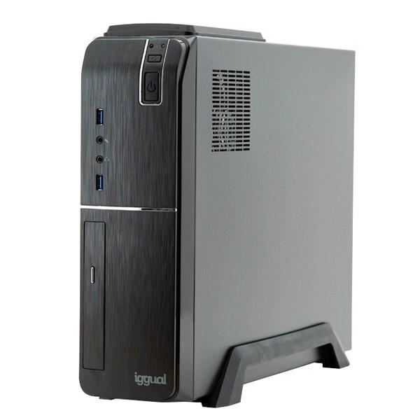Desktop PC Iggual PSIPC352 I5-9400 8 GB RAM 240 GB SSD W10 Black
