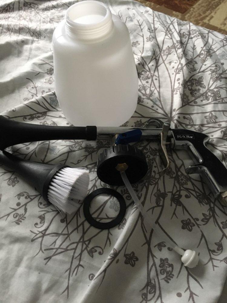Pistola de água e lança-espuma de neve Ferramenta Espuma Lavagem