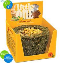 Литтл Ван Лакомство-игрушка Лукошко цветочное для всех видов грызунов