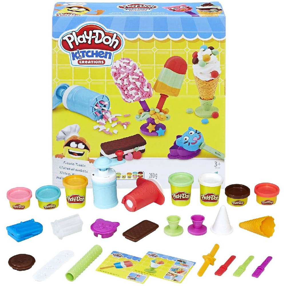 Play Doh Plastilinas Game Table Multicolour Crafts Ice Cream Delicious With Accessories