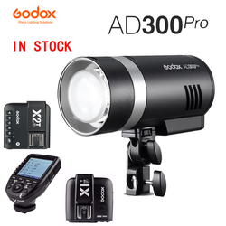 Godox AD300Pro AD300 Pro Outdoor Flash Light 300Ws TTL 2.4G 1/8000 HSS with Battery for Canon Nikon Sony Fuji Olympus Pentax