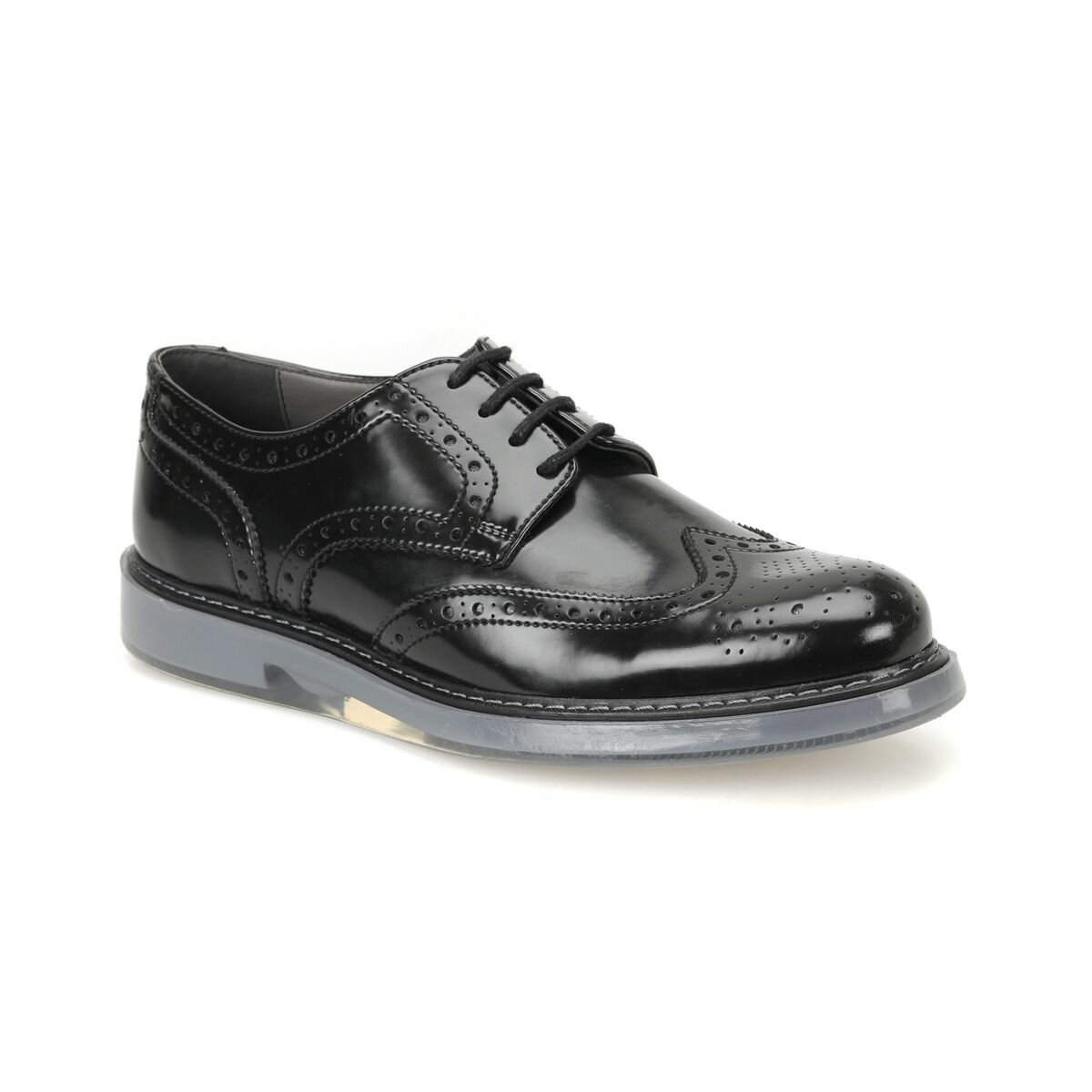 FLO 51535-2 Black Men 'S Classic Shoes JJ-Stiller