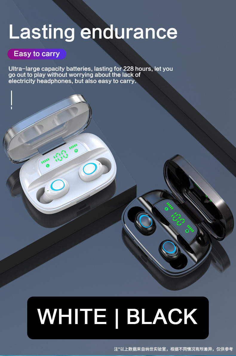 TWS Wireless Earbuds with Power Bank 95