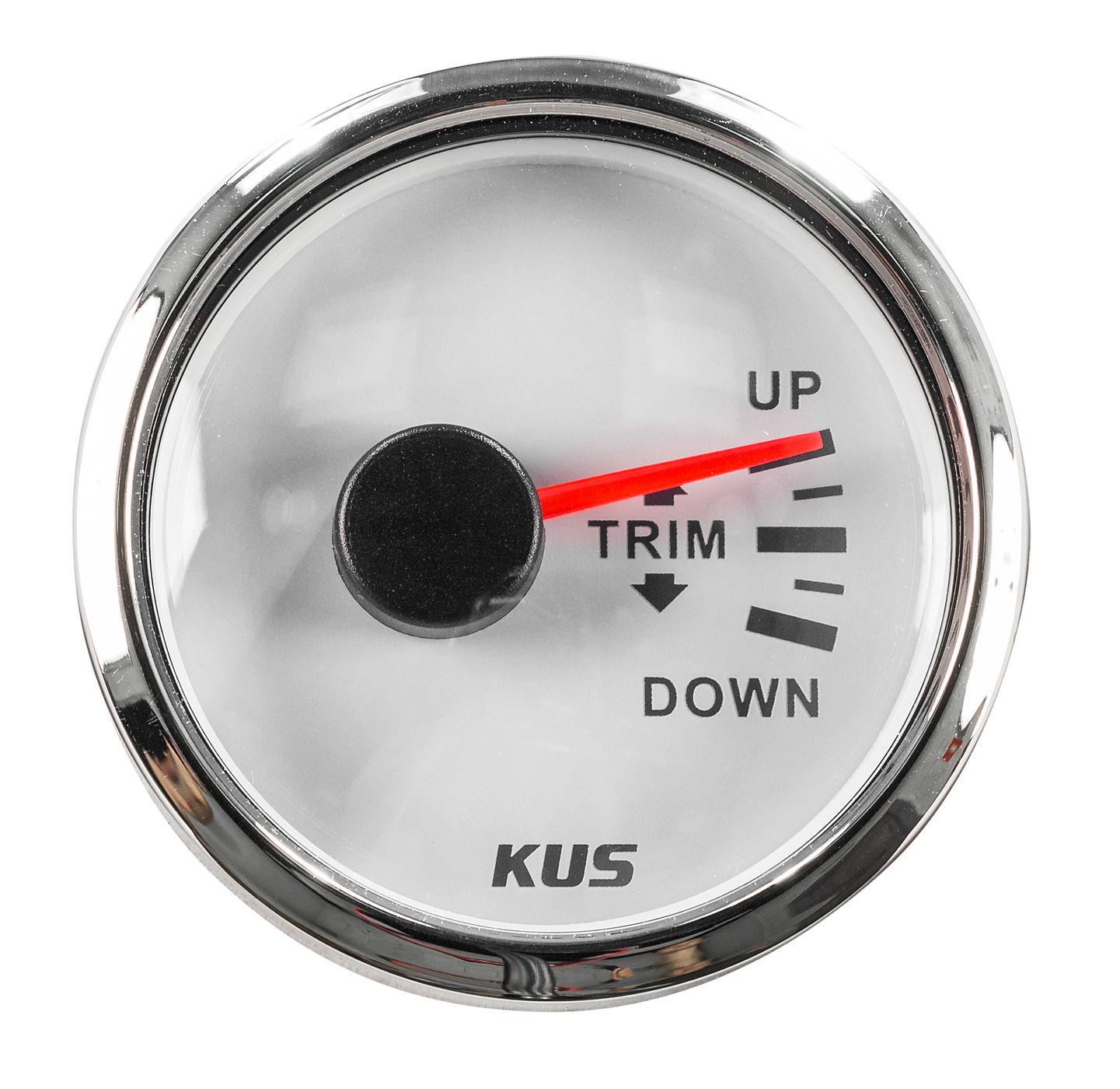 Trim-pointer 1200-800 Ohm, White Dial, Stainless Bezel, D. 52mm Jmv00322