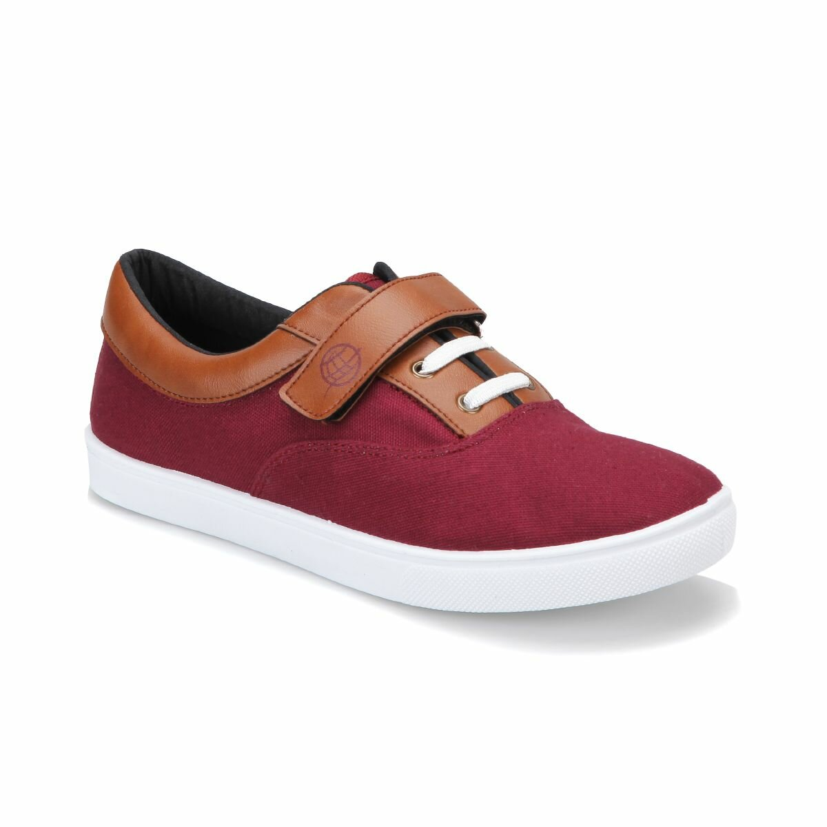 FLO PNM309.GA Burgundy Male Child Sneaker Shoes Panama Club