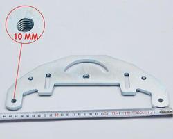 TR Maker ленточная шлифовальная плита для 2x72 нож делая шлифовальный станок/пояс шлифовальный станок отверстие 10 мм