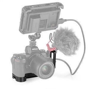 Image 5 - SmallRig l bracket Plate do aparatu Nikon z5 /Z6 / Z7 arca swiss Standard L płyta montażowa talerzyk na pieczywo i płyta bazowa 2258