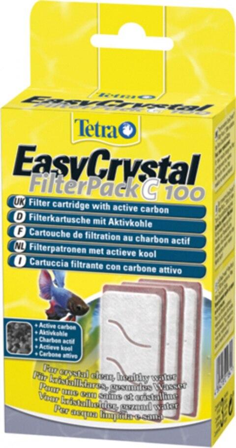 Tetra EC 100 Filter Cartridges With Filter For Aquarium Tetra Cascade Globe (3 PCs), Without The Characteristics