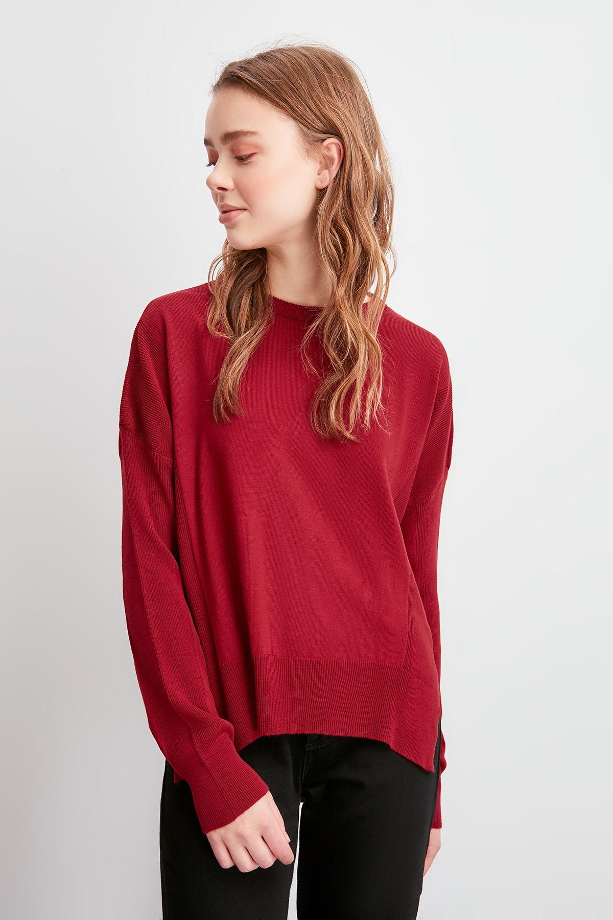 Trendyol Slits Knitwear Sweater TWOAW20FV0050