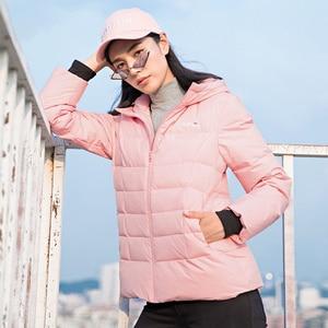 Image 5 - سترة للرجال والنساء للشتاء الدافئ 80% سترة بيضاء بقلنسوة للمشي لمسافات طويلة معطف للخروجات اليومية للرجال والنساء chaqueta hombre
