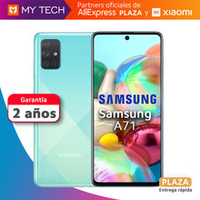 Samsung Galaxy A71 6GB + 128GB, Smartphone pantalla super Amoled plus 6,7