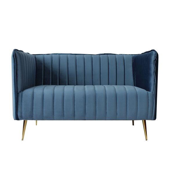 2-Seater Sofa Art Deco Lines (126 X 73 X 78 Cm)