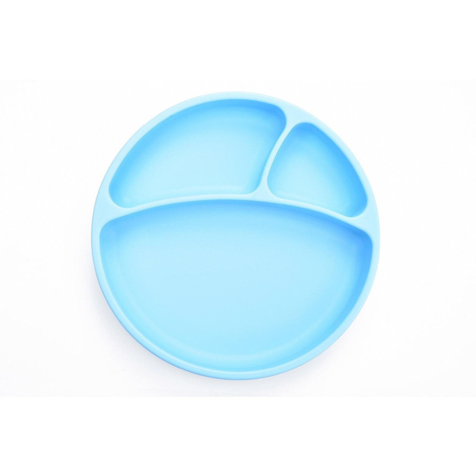 Ebebek Oioi Vacuum Based Silicon Plate Blue