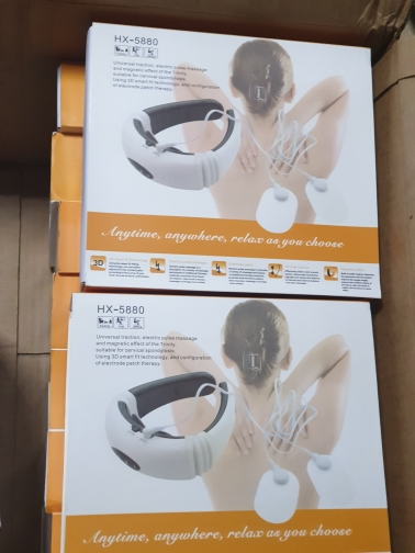 Electric Pulse Back and Neck Massager photo review