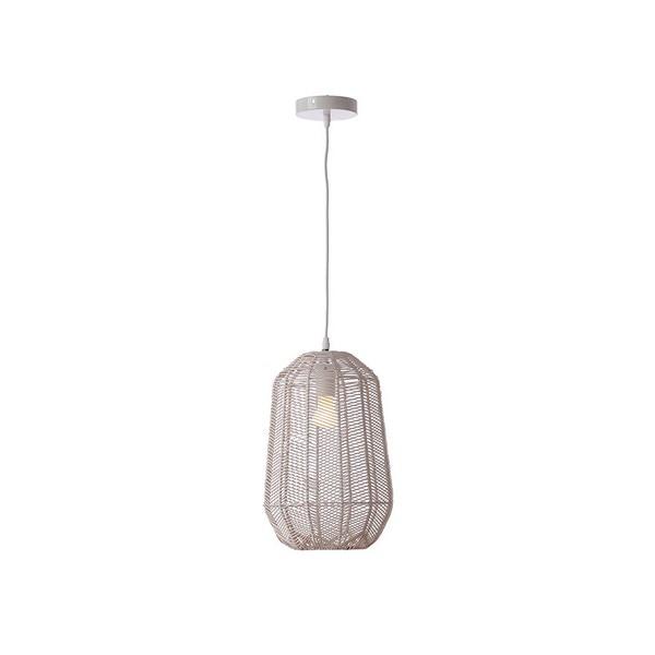 Ceiling Light (25 X 25 X 37 Cm) Natural Ratan