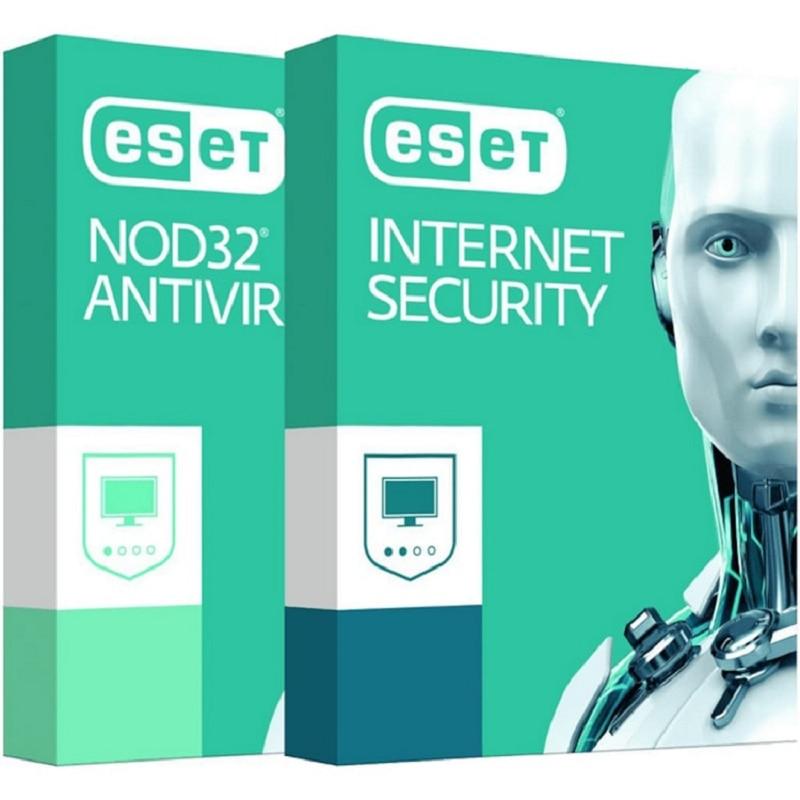 ESET nod32 antivirus internet security 2 year license key worldwide activation