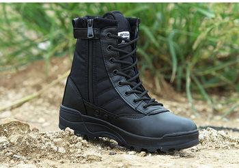 Męskie taktyczne pustynne wojskowe męskie buty do pracy wojskowe buty ochronne buty wojskowe Tacatos Zapatos męskie buty Feamle buty tanie i dobre opinie Pracy i bezpieczeństwa TR (pochodzenie) Dla osób dorosłych