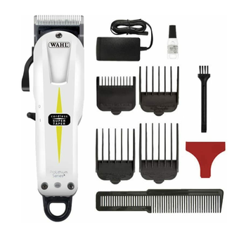 WAHL Professional Model 8591 ProLithium Series Super Taper Cord/Cordless Hair Clipper Trimmer, Hair Cutting Machine, Shaver super saver cordless cell shades 41in