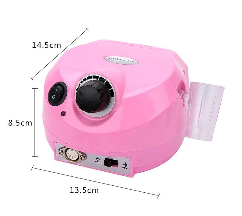 broca polisher manicure pedicure máquina de perfuração do prego