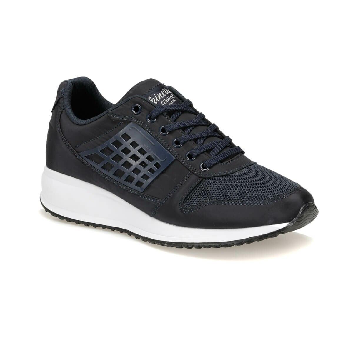 FLO OWEN Black Men 'S Sneaker Shoes KINETIX