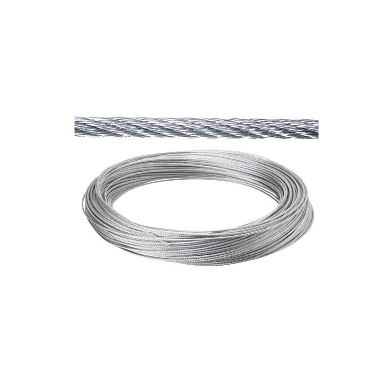 Galvanized Cable 10mm. (Roll 100 Meters) Not Lift