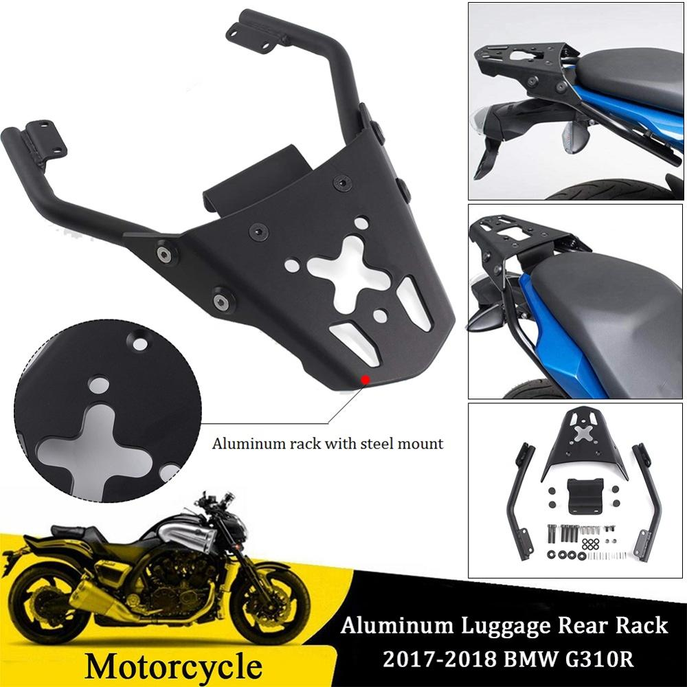 Motorcycle Aluminum Top Luggage Rack Rear Carrier Fender Support Mount for 2017 2018 BMW G310R <font><b>G</b></font> <font><b>310R</b></font> Accessories Motor Parts image