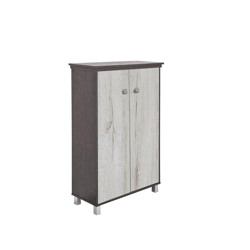 Shoe cabinet wooden 2 doors to test from dust Storage font b closet b font bedroom