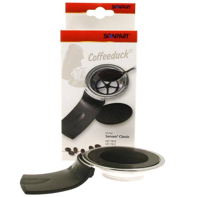 Coffeduck Senseo, Attach For Ground Coffee Scanpart