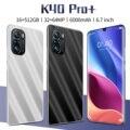 Глобальная версия K40 Pro + смартфон MTK6889 Дека Core5G 6,7 дюймов прямая Экран 16G 512G Мемери 64 мп Камера 6000 мА/ч, мобильный телефон