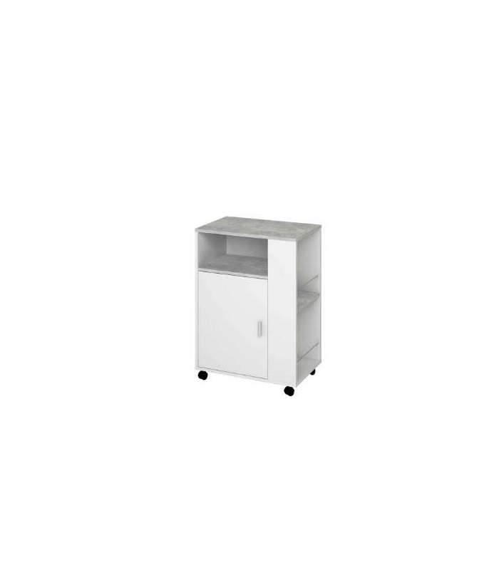 Trolley multi purpose white/cement|Kitchen Islands & Trolleys| |  - title=