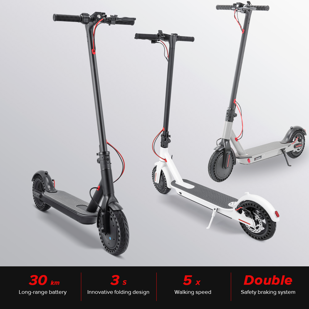 IScooter Electric Smart Scooter Skateboard Foldable Long Hoverboard Patinete Electrico Hoverboard 2 Wheels Scooter Accessories
