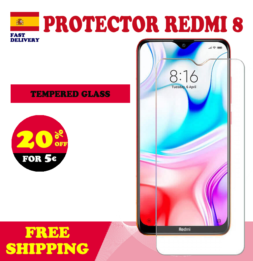 Xiaomi Redmi 8 / 8A Tempered Glass Xiaomi Screen Protector Mobile Safety Glass Protection