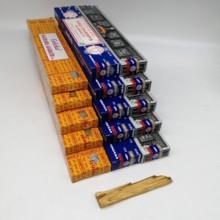 Incense NAG CHAMPA, yellow GOLOKA and SUPER HIT 15 boxes + PALO SANTO