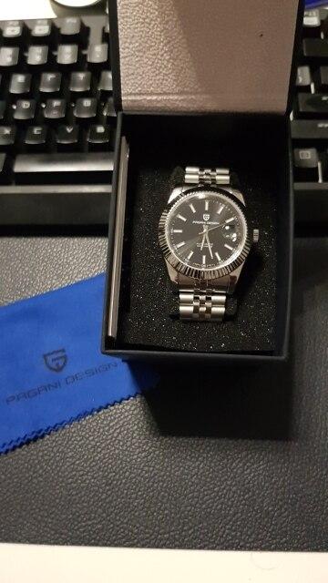 -- Relógio Inoxidável Pagani