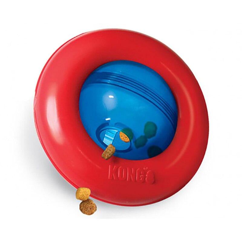 Интерактивная игрушка под лакомства для собак Kong Gyro