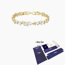 2020 модные ювелирные изделия swa новый браслет louison Золотое