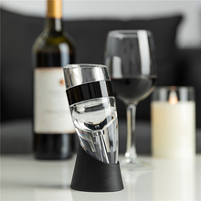 Wine Aerator Decanter Filter Red White Wine Flavour Enhancer with Stand Holder Premium Wine Stoppers Portable Wine Air Decanters