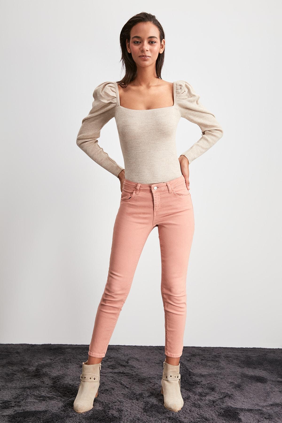 Trendyol Normal Waist Skinny Jeans TWOAW20JE0446
