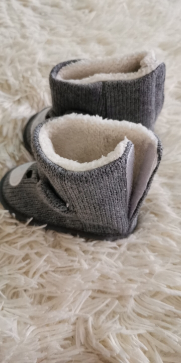 Baby's Warm Soft High Cotton Shoes photo review