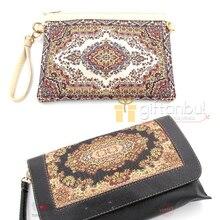 Auténtico bolso turco tradicional de diseño Kilim con diseño de alfombra, bolso para la axila, bolso de compras, bolso de mano Vintage para mujer
