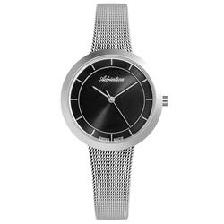 Reloj para mujer a3499.5114q en una pulsera de acero, cristal mineral, luz solar