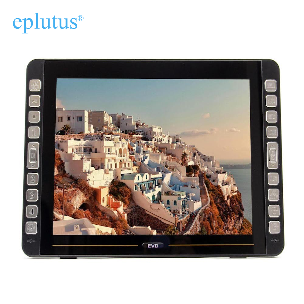 """Portable DVD Player With Digital Tuner DVB-T2 18 """"ls-155t"""