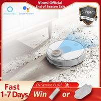 VIOMI SE-Robot aspirador versión mejorada, aspiradora con asistente de Google Alexa, Control por aplicación Mijia para el hogar, colector de polvo, 2021