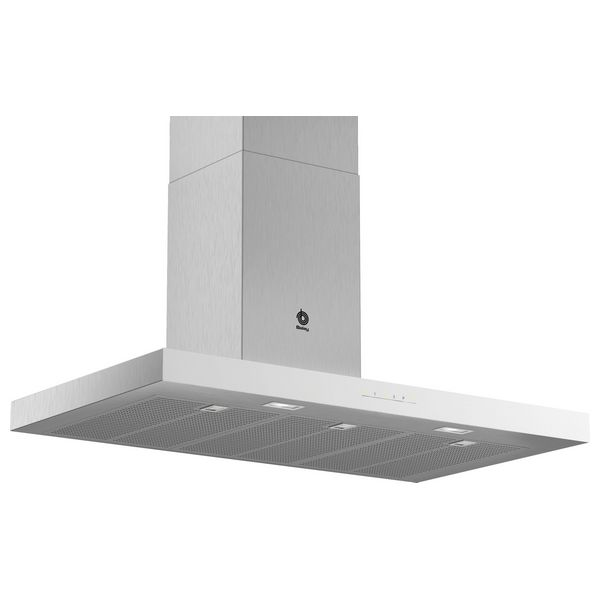 Conventional Hood Balay 3BC097GBC 90 Cm 710 M3/h 65 DB 255W Stainless Steel White