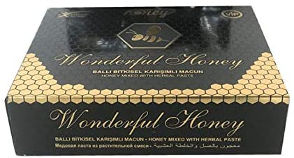 AKTIONSPREIS !!! Wonderful Honey Mixed With Herbal Paste Wunderfull Original Royal Honig Das BESTE Wie Themra Exp. 09/2022